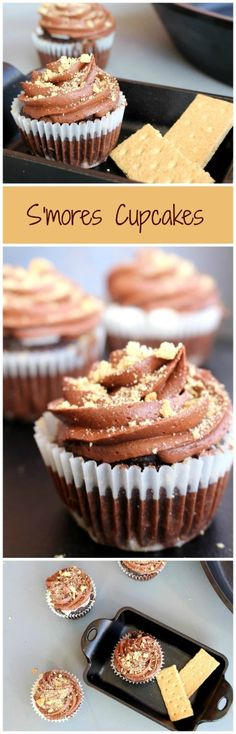 S'mores cupcakes.