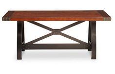 Oak Express: Foundry Dining Table : TA-DWFOT