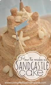 sand castle cakes - Google Search