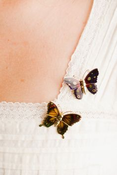 Vintage butterfly brooches, $12.00 - $20.00 #vintage #jewelry