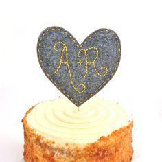 www.wedandroses.etsy.com Wedding Cake Topper