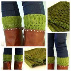 PDF Pattern Crochet Boot Cuffs by yoghi911 on Etsy