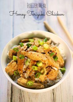 {Freezer Meal} Honey Teriyaki Chicken