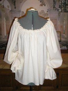 renaiss fair, cotton, blouses, poet blous, chemises, chemis poet, poets blouse, lace trim, renaiss chemis
