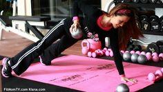 Sneak Peak: Kiana Tom's live online workouts for Fit Mom TV