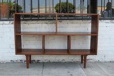 Walnut bookcase $375