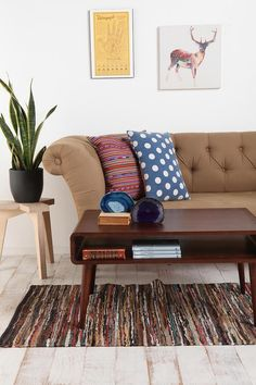 Danish Modern Coffee Table #urbanoutfitters #apartment