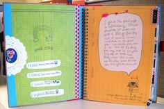 weight loss journal idea-love this!
