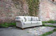 Mayo Furniture 4300 Fabric Sofa - Carmel Tweed