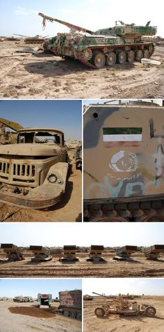 Military Vehicle Graveyard