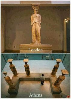 Η φωτογραφία από το Μουσείο της Ακρόπολης που κάνει τον γύρο του κόσμου