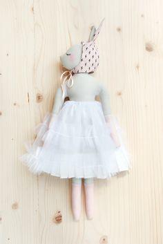 'Confiture de Pailettes ' by Maiwenn Philouze / Handmade doll//