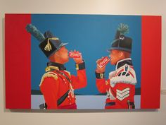 'Thirst for Victory' by Charles Pachter. On display at the fabulous new Fort York Visitor Centre