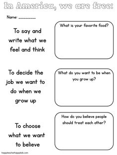 Constitution Day lesson ideas for K-2