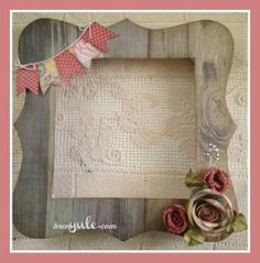 My Creations Bracket Frame {CTMH} Cricut Artiste