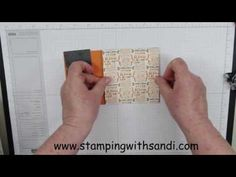 ▶ How to create a extended flip card with the Stampin Up Circle Flip Card Thinlits - YouTube