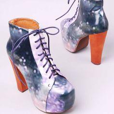 Blue cosmic litas. Must have them.