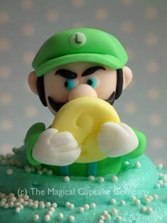 Super Mario cupcakes - http://www.themagicalcupcakecompany.co.uk/cupcakes.html#