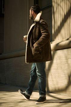 Louis Vuitton 2012 Fall/Winter Bane Coat.
