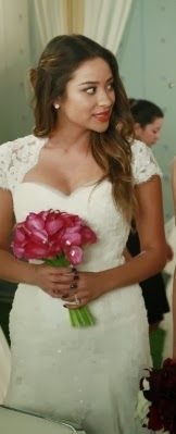 "Emily's Casablanca Wedding Dress Style 2102 Pretty Little Liars Season 4, Episode 23: ""Unbridled"""
