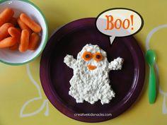 A healthy Halloween snack!