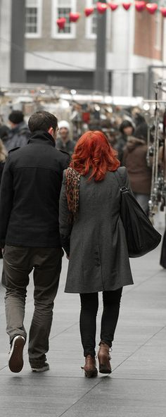 Holding hands in the market. Our Daily Challenge: Date     How to find sexy women. Learn more on cougarsplace.com