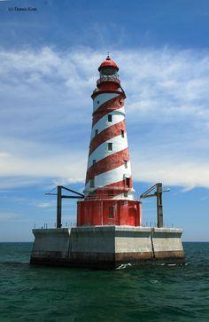 White Shoal Lighthouse in Mackinaw City,MI