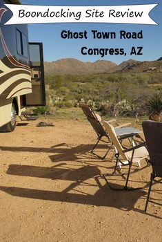 Review of free BLM camping site in NW Arizona just outside of Congress. #camping #boondocking #RVcamping #freecamping #Arizona #Congress