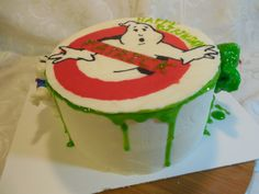 Ghost Busters Cake, Logo