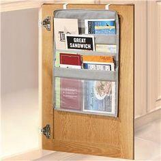 Over-the-Cabinet-Door Kitchen Pocket Organizer from Lillian Vernon
