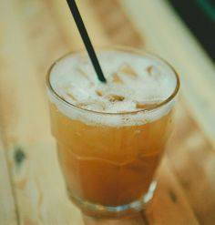 Apple Cider & Bourbon Cocktail via Beat Hotel