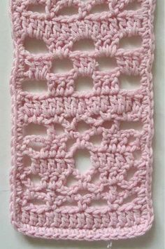 Picture of Lacy Cotton Scarf Pattern