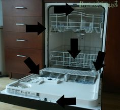 How to clean your dishwasher. This works! It's like brand new!