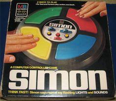 MILTON BRADLEY: 1978 SIMON Game #Vintage #Games