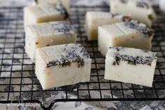 DIY: lavender soap