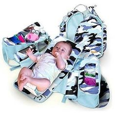 Boogaloo 73 - Camo Diaper Bag (Baby Product) http://www.alternative-mama.com/l.php?p=B00149YRH8