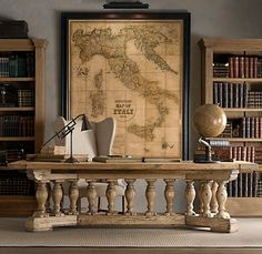 Old World Antique Map