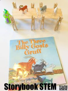This post may contain affiliate links.I LOVE doing hands-on projects to go along with our favorite stories. This past week, we did a fun The Three Billy Goats Gruff Storybook STEM activity. We have the version of the book by the author Stephen Carpenter. Three Billy Goats Gruff Storybook STEM Activity: For this little challenge …