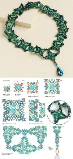 Beaded Renaissance Necklace PATTERN