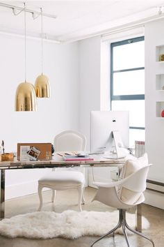 office spaces, living room lighting, offic space, pendant lights, home offices