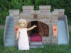 American Girl Castle Bed