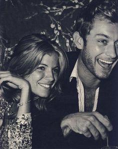 jude law & sienna miller. wish they were still together