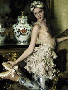 polka dots, costume ideas, dress, mask, ballet fashion, ballet shoes, fashion inspir, mari mccartney, masquerad