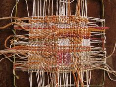 Tanglewood Threads: Needle Weaving on a Frame