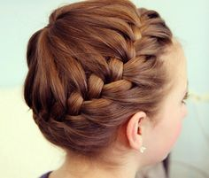 7 Great Gym-to-Street Hairstyles - : Image: Courtesy of Cute Girls Hairstyles http://fitbie.msn.com/slideshow/hair-tutorials