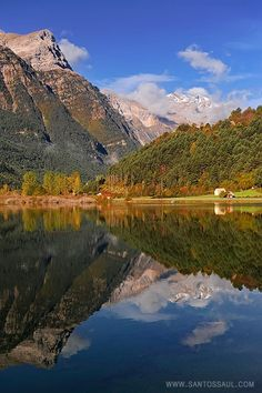 Pirineos, Parque Nacional de Ordesa, Valle de Pineta