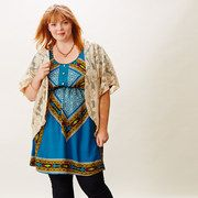 Save up to 60% off during the Bohemian Spirit: Plus-Size Apparel event on #zulily today!