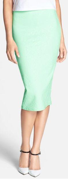printed #mint midi skirt http://rstyle.me/n/nxr4rr9te