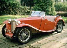Vintage MG Roadster