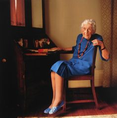 An elderly Dame Agatha Christie published by The New Yorker in 2010.